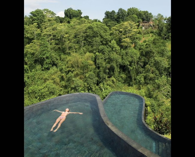 Boutique Hotel Ubud Hanging Gardens in Bali.