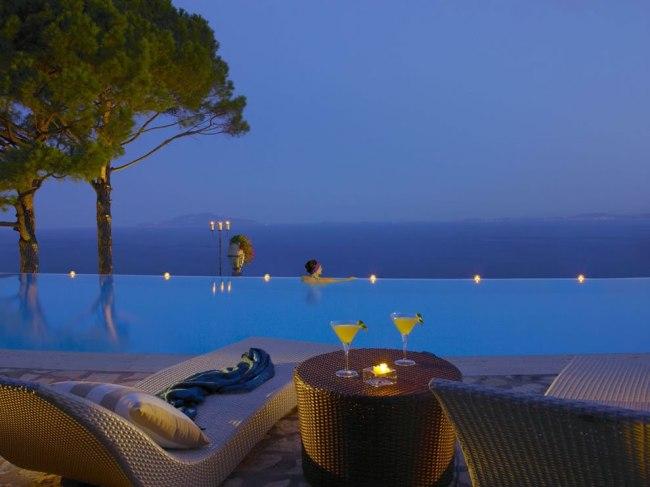 Hotel Caesar Augustus, Italy.