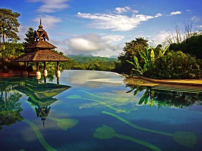 Anantara Golden Triangle Resort atChiang Rai, Thailand.