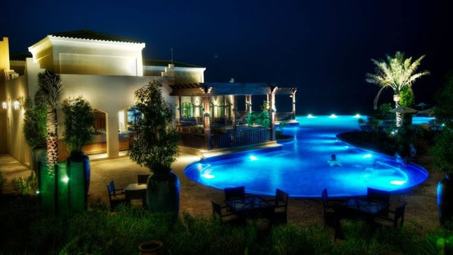Desert Islands Resort on Sir Bani Yas Island, Abu Dhabi