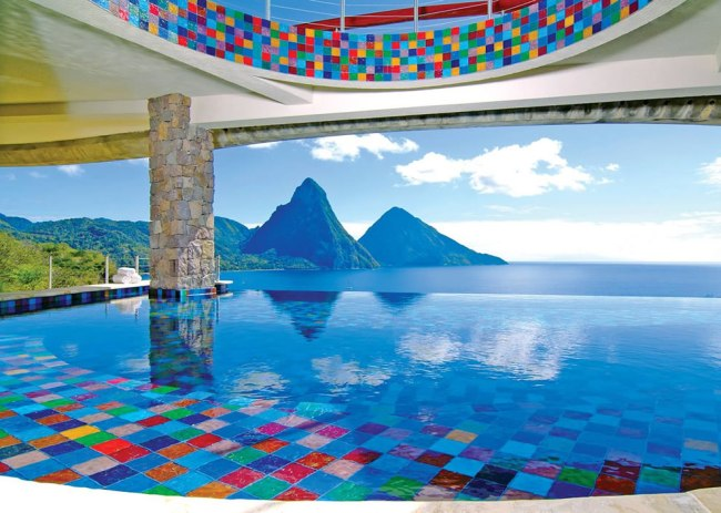 Anse Chastenet Resort at St. Lucia.